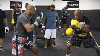 Download Anderson Silva Trains With 'Jacare' Souza Ahead of UFC 208 Video