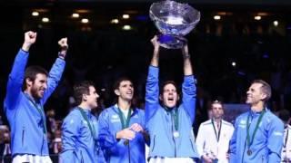 Download Salatino se emociona en el momento que Argentina gana la Copa Davis - Del Potro - 27 Noviembre 2016 Video