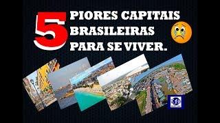 Download 5 piores capitais brasileiras para se viver - Ranking 2017 Video