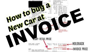 Download How to buy a New Car at INVOICE | Step by Step on how to Negotiate & SAVE Money Video