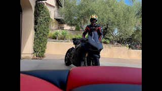 Download Ducati V4S Full Carbon FIRST RIDE! Part 1 Video