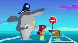 Download हिंदी Zig & Sharko - The Were-Yena / Cop Duty 👨✈ Full Compilation 2019 - Hindi Cartoons for Kids Video
