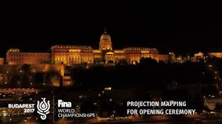 Download FINA Budapest 2017 World Championship Opening Ceremony Projection Mapping on Buda Castle Video