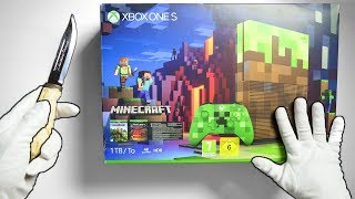 Download BEST XBOX ONE S LIMITED EDITION? Unboxing Minecraft Console & Fortnite Battle Royale Gameplay Video