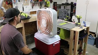 Download $100 Homemade Air Conditioner - DIY Video