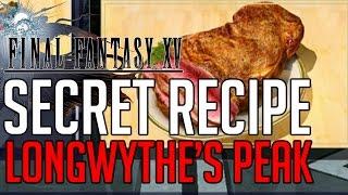 Download Final Fantasy XV SECRET RECIPE LONGWYTHE'S PEAK LOCATION Video