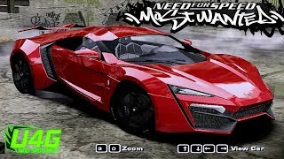 Download Various W-Motors Lykan Hypersports NFS Most Wanted 2005 Mod Spotlight Video