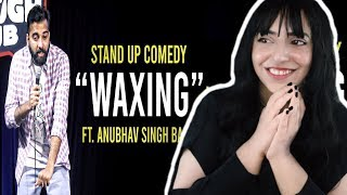 Download Waxing - Stand Up Comedy ft. Anubhav Singh Bassi REACTION by Pakistani/Italian Video