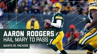 Download Aaron Rodgers Hail Mary Before Half! | Giants vs. Packers | NFL Wild Card Highlights Video