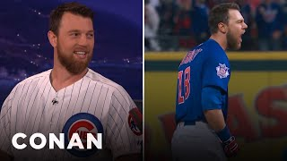 Download Ben Zobrist On His Incredible World Series-Winning Double - CONAN on TBS Video
