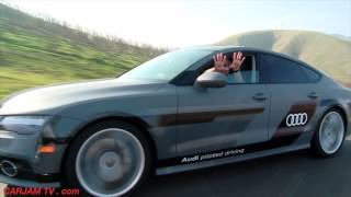 Download AUDI A7 Self Driving Car 550 Mile Roadtrip Las Vegas CES Audi Driverless Car CARJAM TV 4K 2015 Video