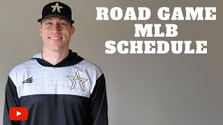 Download Hour by Hour Schedule for MLB Road Game Video