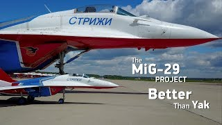 Download The MiG-29 scale jet model project. Better than Yak Video