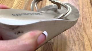 Download My Filthy White Sandals - Years Worn! Video