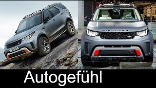 Download Land Rover Discovery SVX new rugged offroad version - Autogefühl Video