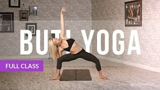 Download BUTI YOGA with Bizzie Gold - Abdominal Activation + Spiral Structure Technique (Full Class) Video