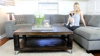 Download The Rustic Coffee Table - DIY Project Video