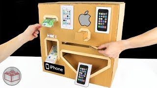 Download How To Make Apple iPhone Vending Machine From Cardboard Video