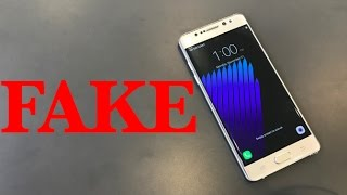 Download Best FAKE Galaxy Note7? (Unboxing) Video