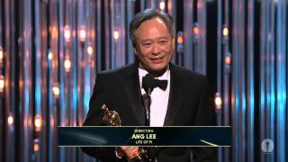 Download Ang Lee winning the Oscar® for Directing ″Life of Pi″ Video
