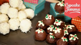 Download Two Recipes for Christmas Truffles! | Cupcake Jemma Video