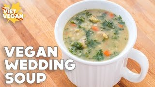 Download Vegan Wedding Soup   Cleaning Out My Fridge Recipe Video