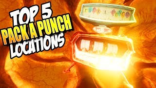 Download ″TOP 5″ PACK A PUNCH LOCATIONS IN COD ZOMBIES (Call of Duty Top 5) Video