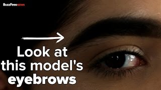 Download This Girl's Eyebrows Made Her A Model Video