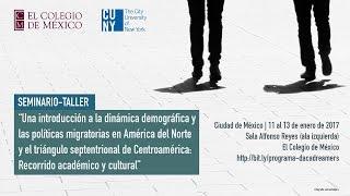"""Download Seminario- Taller """"Una introducción a la dinámica demográfica..."""" Video"""