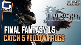 Download Final Fantasy 15 Guide - Catch 5 Yellow Frogs (Professor's Protege Quest Walkthrough) Video
