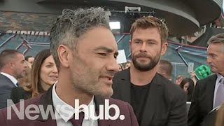 Download Taika Waititi interview at Sydney premiere of Thor: Ragnarok | Newshub Video