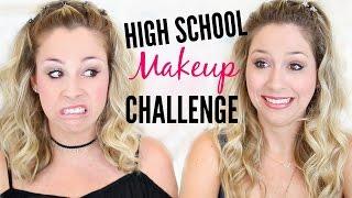 Download How I Did My Makeup in High School CHALLENGE! Video