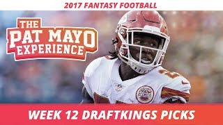 Download 2017 Fantasy Football - Week 12 DraftKings Picks, Preview and Sleepers Video