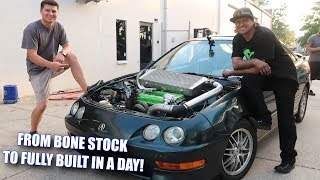 Download We FULLY BUILT an Integra in ONE DAY! Video