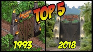 Download TOP 5 DE VIDEOJUEGOS DE JURASSIC PARK Y JURASSIC WORLD Video