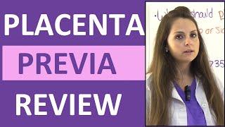 Download Placenta Previa Nursing Treatment, Symptoms, Types, Causes NCLEX Lecture Video