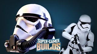 Download Starwars Battlefront Storm Trooper & Rebel Commando Helmets - Super Gamer Builds Video