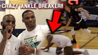 Download Russell Westbrook & CP3 AMAZED by Cole Anthony ANKLE BREAKER VS Cassius Stanley!! Carmelo Watching! Video