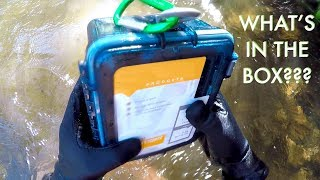 Download I Found a FULL Sealed Box Underwater in the River! (Contents Returned to Owners - Best Reaction!!) Video