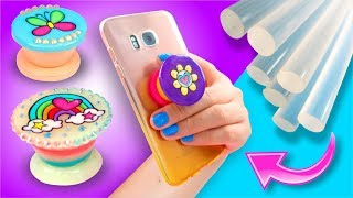 Download POPSOCKET de SILICON CALIENTE casero! Perfecto para Musical.LY - Soporte para Celular ⭐ DIY Video