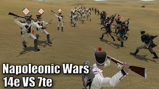 Download Napoleonic Wars - 14e VS 7te (Napoleonic Wars League) Video