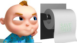 Download TooToo Boy - Toilet Paper Episode | Funny Cartoons For Children|Videogyan Kids Shows | Comedy Series Video