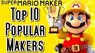 Download Super Mario Maker Top 10 MOST POPULAR CREATOR Courses (Wii U) Video