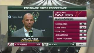 Download Bucks coach Kidd says Giannis Antetokounmpo has arrived Video