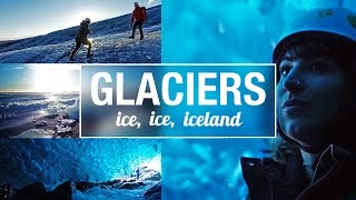 Download ICELAND 🇮🇸 | Day 5 - Glacier Hike, Glacier Lagoon and Ice Cave Tour 🙌🏻 Video