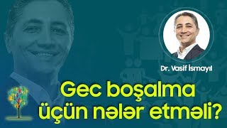 Download Gec boşalma üçün nələr etməli? Video