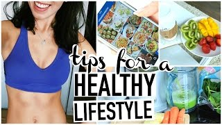 Download TIPS FOR STARTING A HEALTHY LIFESTYLE! How To Be Healthy! Video