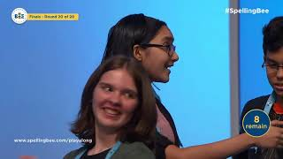 Download 2019 Scripps National Spelling Bee Declares First-Ever Group of Co-Champions Video