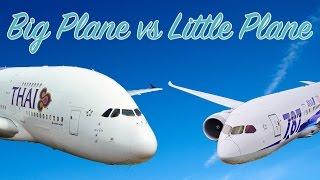 Download Big Plane vs Little Plane (The Economics of Long-Haul Flights) Video