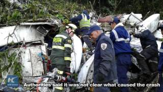 Download Chapecoense footballers among 76 dead in Colombia plane crash Video